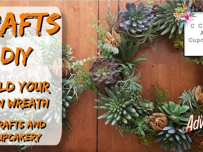 Crafts: DIY: Build your own Wreaths with C Crafts and Cupcakery: Homemade Adventures