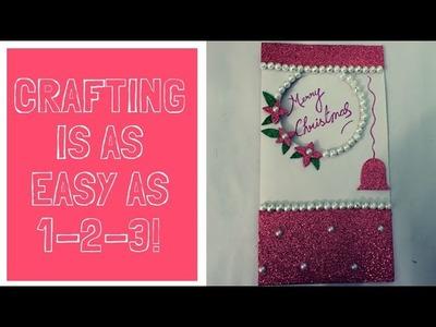 DIY #Beautiful Christmas #HandMade Card #PaperCraft #Ideas #Merry #Christmas #Decoration #Craftideas