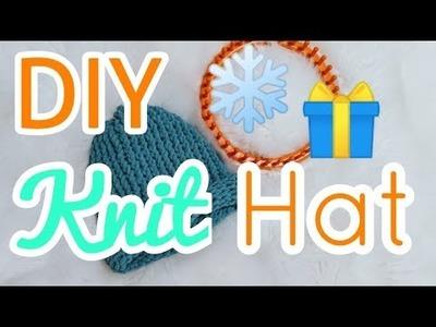 DIY Christmas Knit Hat