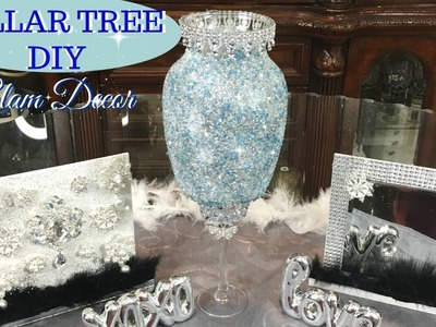 DIY DOLLAR TREE GLAM CHRISTMAS DECOR | 3 QUICK AND EASY  GIFT IDEAS
