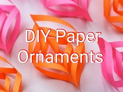 DIY Paper Christmas Decorations 2018 | DIY Make Your Own Ornaments 2018