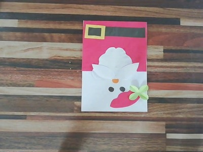 Diy||Santa Christmas card for kids||simple & easy crafts for kids||crafts life
