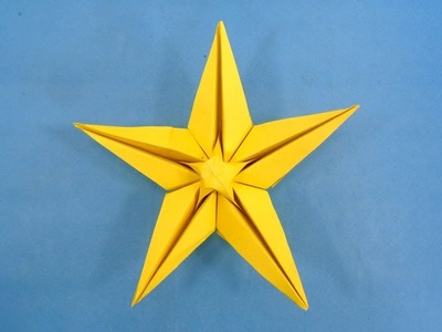 Easy 3D Paper Star | DIY Christmas Star Making With Paper for Decorations