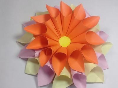 Simple Paper Flower Making Ataum Berglauf Verband Com
