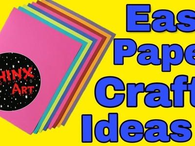 Easy paper craft ideas | DIY New Year Decorations | CHINX ART