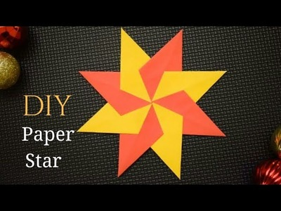 Easy Paper Star Making | DIY Star Making Ideas with Paper #paperstardiy  DIY Paper Star