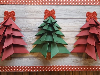 From Cardboard to Hanging Wall Decor | Christmas Paper Crafts