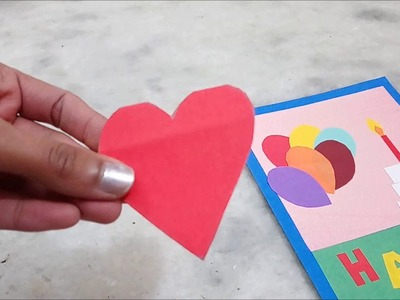 Handmade Birthday Card or Greeting Card | Happy Birthday Card DIY.