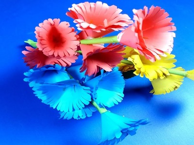 Flower How To Make Beautiful Paper Flower Making Paper Flowers
