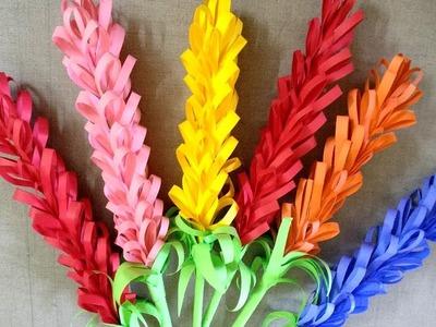 HOW TO MAKE PAPER FLOWER | SUORI TV ART AND CRAFT