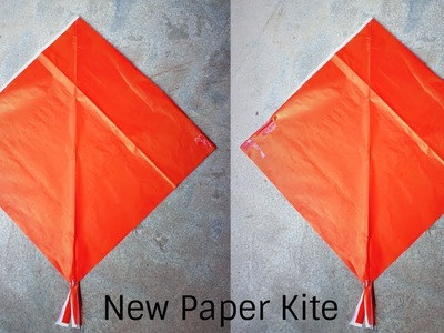 How To Make Pari Kite - News Paper | New idea diy paper kite