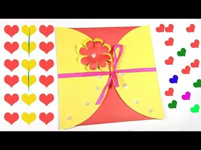 Making Gift Card from Paper | Gift Card Making Idea with Paper