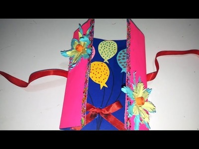 New Year Card 2019 : How to make new year card easily | Handmade new year card for boyfriend |
