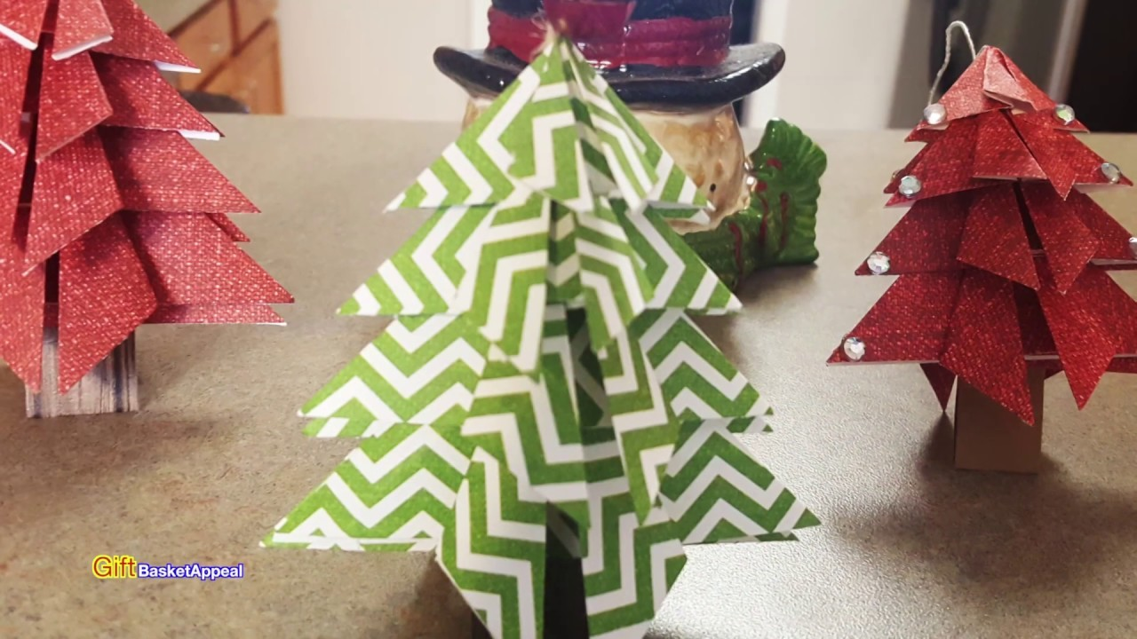 Origami Christmas Tree | Paper Crafting