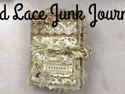 Paper Bag Junk Journal | Stamperia Old Lace