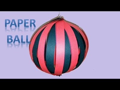 Paper ball . hanging paper balls for Christmas decoration