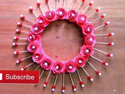 Paper crafts | Room decorating ideas | Awesome wall hanging