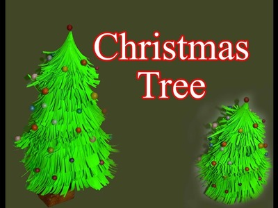 #papercraft  christmas tree paper craft