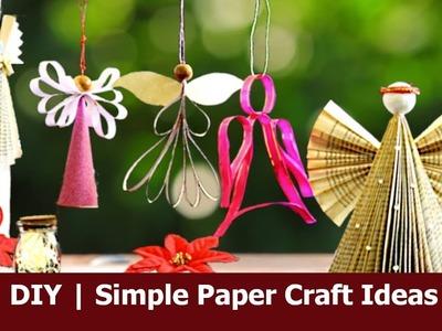 #papercraft #paperangel #diy  Simple Paper Craft Ideas |  Aloha Crafts