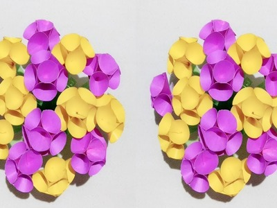 Plastic Make Beautiful Flower How To Make A Flower Vase Using