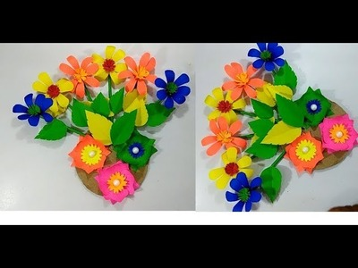 Wall Hanging Wall decoration Simple and beautiful wall hanging Using Paper