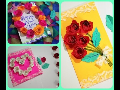 3 Easy and Simple DIY Greeting Cards