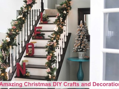 4 Amazing and Easy Christmas DIY Crafts and Decorations  | DIY ROOM DECOR