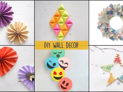 6 Cool and Easy DIY Wall Decor Ideas | DIY Room Decor