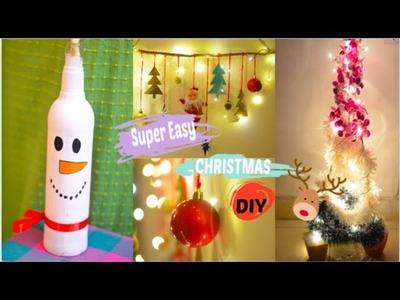 Christmas DIY 2018 | Affordable and Easy Home decor for Xmas | Last Minute Decor for Holidays 2018