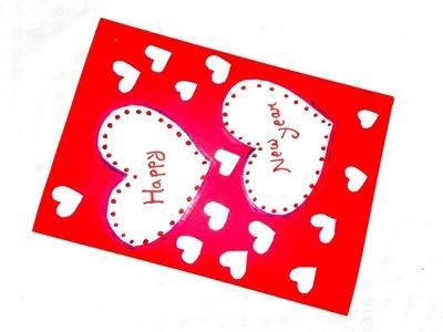Diy card. valentine day  card. love  greetings card. card. card 2019. Valentine special card