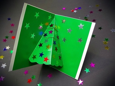 DIY Christmas card ❄ Easy Christmas pop up card ❄ Christmas gift idea