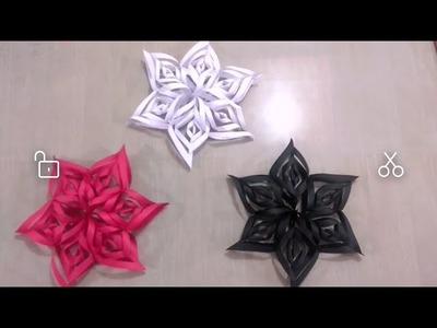DIY Christmas Star ????    Christmas Home Decoration   #mhph