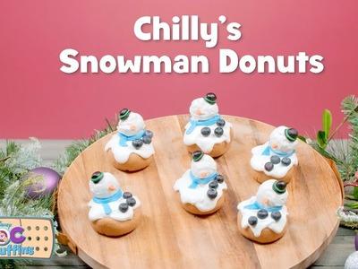 Doc McStuffin Snowman Donuts | DIY Crafts | Disney Junior
