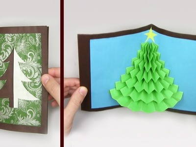 Easy DIY: 3D Christmas DIY Pop up card for mom - Beautiful Easy DIY Yakomoga