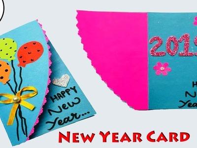 Greeting Cards Latest Design Handmade   DIY Happy New Year Card Design 2019