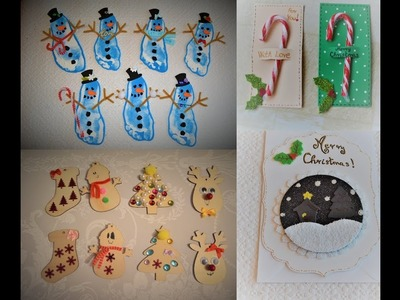 Handmade Christmas Gift ideas | Gift tags, Cards and Teachers gifts DIY