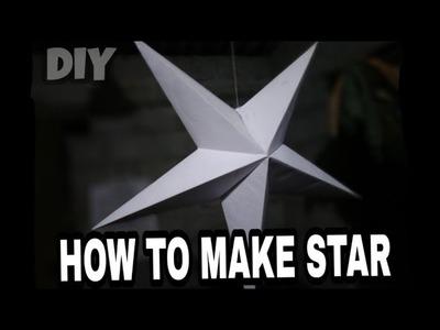 How to make Christmas Star DIY