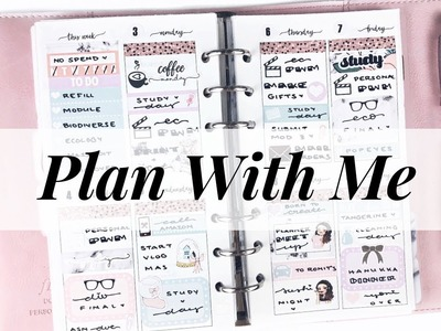 Plan With Me + GIVEAWAY    ft. PLP 'Holi-DIY'    Countdown to Christmas