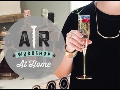 Ring in 2019 with a DIY Bubbly Bar