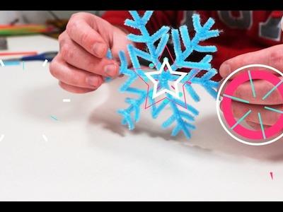 Snowflake!!Do it yourself!!Christmas!!Сrafts!!DIY!!