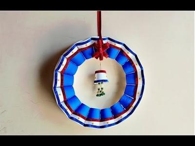 DIY Disposable Thermocol Tea Cup Home decor idea