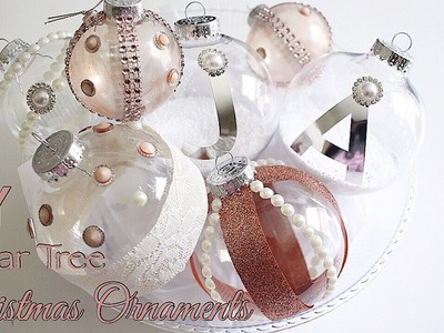 DIY Dollar Tree Ornaments | Totally Dazzled