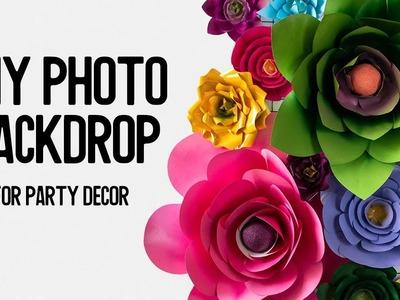 DIY Portable Photo Backdrop ???? Make Your Own Party Decor