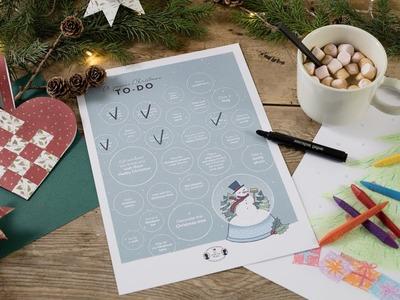 DIY : Wonderful Christmas to-dos for children by Søstrene Grene