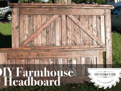 Farmhouse Headboard. DIY + How to