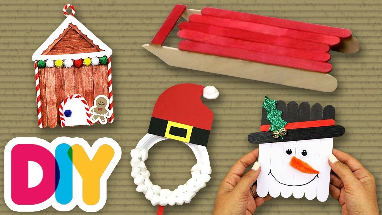 4 Awesome CHRISTMAS CRAFTS you can do with your kid ???? Fast-n-Easy | DIY Arts & Crafts for Kids