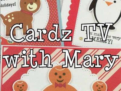 CARDZ TV 12 DAYS OF CHRISTMAS ~ CARDS SEVEN, EIGHT & NINE 2018