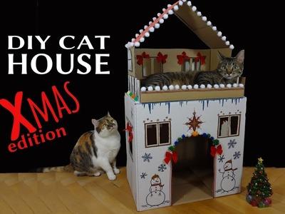 DIY Cat House: Christmas edition