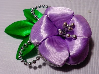 DIY | kanzashi flower | bros dari pita satin