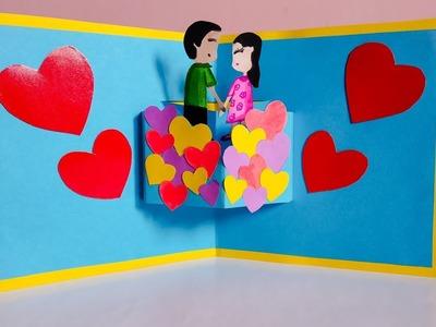 DIY Pop Up New Year Card for Boyfriend or Girlfriend